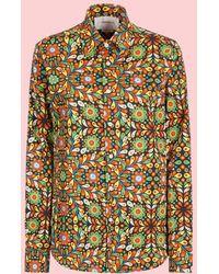 LaDoubleJ - Liberty Rosa Men's Shirt - Lyst
