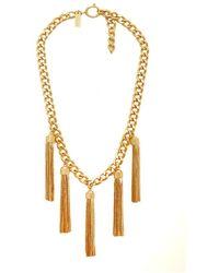 Rachel Zoe - Hazel Multi-tassel Mini Necklace - Lyst