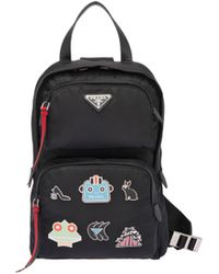 Prada - Nylon One-shoulder Backpack - Lyst