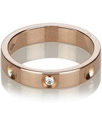 Louis Vuitton - Empreinte Gold Pink Gold Ring - Lyst