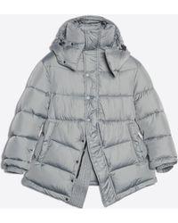 f0dd0788ca8e54 Balenciaga Swing Puffer Jacket in Black - Lyst