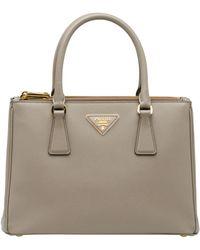 43760a01b5ff Prada - Galleria Small Saffiano Leather Bag - Lyst