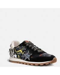 COACH - C125 Runner With Rexy Patches - Lyst
