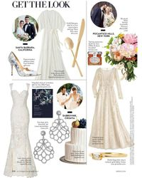 Kenneth Jay Lane - Brides/ October 2017 - Crystal Lace Pierced Or Clip Earrings - Lyst