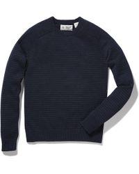 Original Penguin - Feeder Stripe Crew Sweater - Lyst