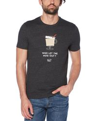 Original Penguin - Who Let The Nog Out Tee - Lyst
