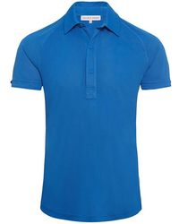 Orlebar Brown - Sebastian Sport Butterfly Blue Tailored Polo - Lyst