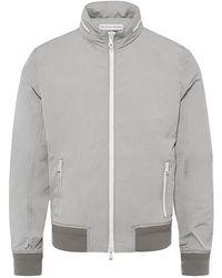 Orlebar Brown - Murdoch Pale Grey Lightweight Hooded Jacket - Lyst
