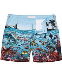 9c55c0fb9c Orlebar Brown - Bulldog Reef Scene Good Wives And Warriors Mid-length Swim  Shorts -