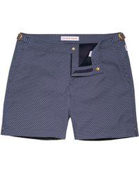 Orlebar Brown - Bulldog X Honeycomb Smarter Classic Swim Shorts - Lyst