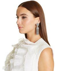 Oscar de la Renta - Classic Short Tassel Earrings - Lyst