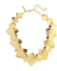 Oscar de la Renta - Geo Collage Necklace - Lyst
