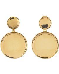 Oscar de la Renta - Bold Resin Earrings - Lyst