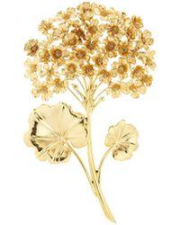 Oscar de la Renta - Geranium Brooch - Lyst
