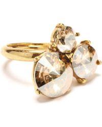 Oscar de la Renta - Gold Rivoli Stone Ring - Lyst