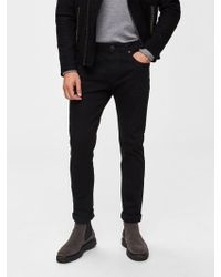 SELECTED - Slim-Fit- Jeans - Lyst