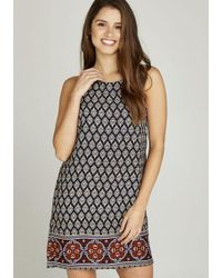 Apricot Etuikleid »Geometric Mosaic Shift Dress« im Mustermix
