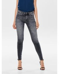 ONLY - Mid Skinny Fit Jeans - Lyst