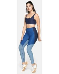 1db6051756253a Outdoor Voices Tech Sweat 3/4 Legging in Purple - Lyst