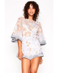 bff137744c1 Alice McCALL Your Disco Needs You Playsuit in Black - Lyst