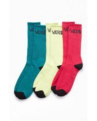 Vans - Multicolor Classic 3 Pair Pack Crew Socks - Lyst