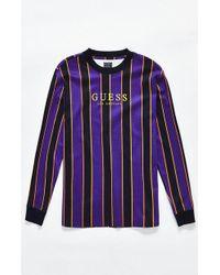 Guess - St. James Stripe Long Sleeve T-shirt - Lyst