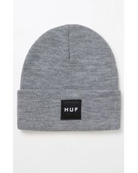 035582e08d3 Lyst - Huf The Reign Box Logo Volley in Gray for Men