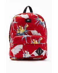 6840bcead2 Lyst - Vans Deana Iii Backpack in Red for Men