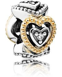 PANDORA - Celebration Of Love Spacer - Lyst