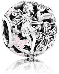 PANDORA - Dazzling Daisy Fairy Charm - Lyst