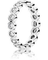 PANDORA - Alluring Brilliant Ring - Lyst