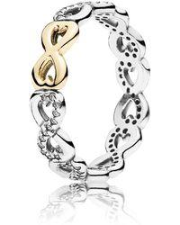 PANDORA - Infinite Love Ring - Lyst