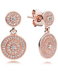 PANDORA - Radiant Elegance Drop Earrings - Lyst