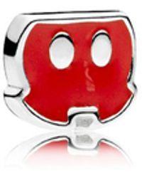 PANDORA - Disney, Mickey Trousers Petite Locket Charm - Lyst