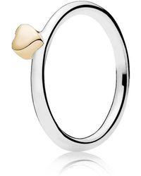 Pandora | Puzzle Heart Ring | Lyst