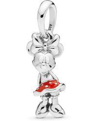 e9def29d4 PANDORA Silver Bead Sparkling Mickey Hearts Disney Cz Charm 791457cz ...