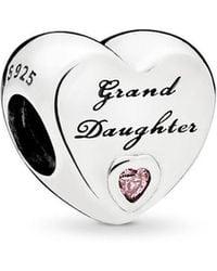 PANDORA - Granddaughter's Love Charm - Lyst