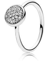 Pandora | Dazzling Droplet Ring | Lyst