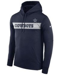 super popular 02855 70aca Lyst - Nike Men's Dallas Cowboys Empower Jacket in Blue for Men