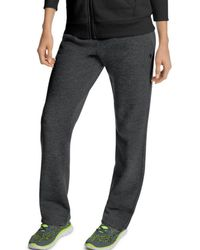 Champion - Powerblend Open Bottom Pants – Womens - Lyst