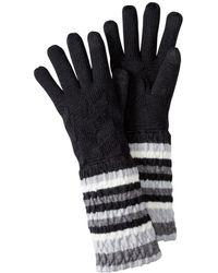 Smartwool - Striped Chevron Gloves - Lyst