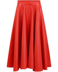 Emilio Pucci - Circle Skirt Red - Lyst
