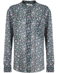 Isabel Marant - Etoile L/s Jaws Floral Print Blouse Multi - Lyst