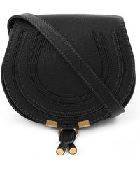 Chloé - Marcie Small Bag Black - Lyst