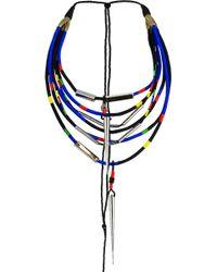 En Inde - Nauru Hand Woven Neckpiece Multicolour - Lyst