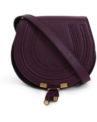 Chloé - Marcie Small Bag Intense Violine - Lyst