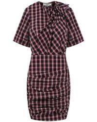 85dc855d7f0 Isabel Marant Etoile Cream Cotton Blend Embellished Short Sleeve ...
