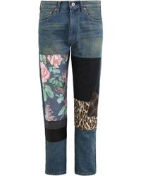 Junya Watanabe - Patchwork Jeans - Lyst
