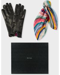 Paul Smith - 'swirl' Gloves And Neckerchief Box Set - Lyst