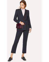 Paul Smith - A Suit To Travel In - Dark Navy Wool Double-Breasted Suit - Lyst